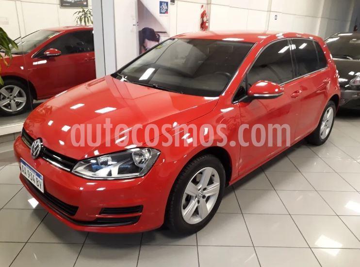 Volkswagen Golf 5P 1.6 TSi Trendline usado (2017) color Rojo precio $1.326.900