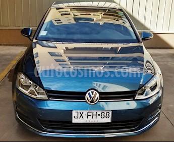 Volkswagen Golf 1.4 TSI Aut usado (2018) color Azul precio $12.290.000