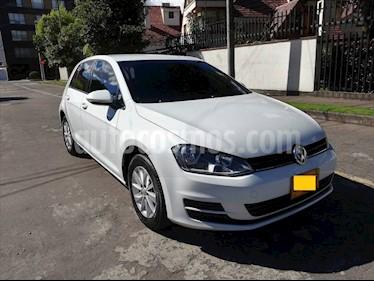 Volkswagen Golf 1.6L Trendline  usado (2015) color Blanco precio $22.800.000