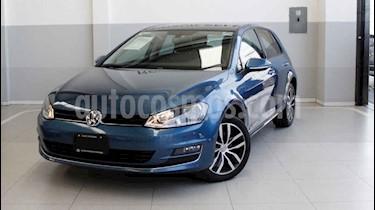 Foto venta Auto usado Volkswagen Golf Highline DSG (2016) color Azul precio $275,000