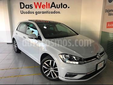 Foto venta Auto usado Volkswagen Golf Highline DSG (2018) color Blanco Platinado precio $369,000