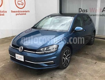 Foto venta Auto usado Volkswagen Golf Highline DSG (2019) color Azul precio $397,000