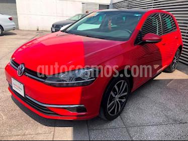 Foto venta Auto usado Volkswagen Golf Highline DSG (2018) color Rojo Tornado precio $357,000