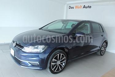 Volkswagen Golf Highline DSG usado (2018) color Azul Metalico precio $87,500