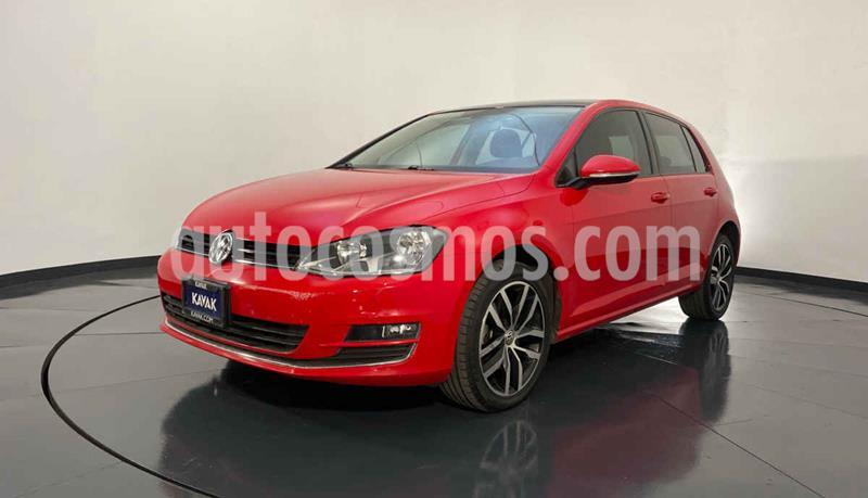Volkswagen Golf Highline DSG usado (2017) color Rojo precio $292,999