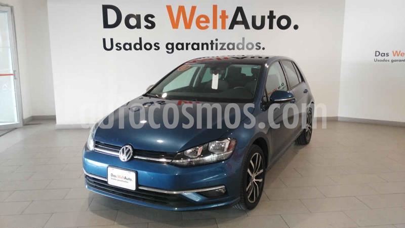 Volkswagen Golf Highline DSG usado (2019) color Azul precio $385,500