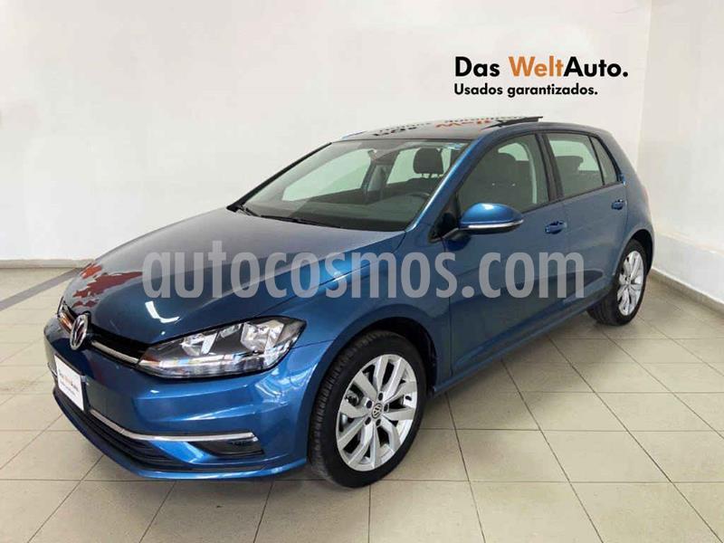 Volkswagen Golf Comfortline DSG usado (2019) color Azul precio $349,282