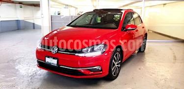 Volkswagen Golf 5p Highline L4/1.4/T Aut usado (2018) color Rojo precio $345,000