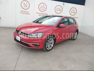 Volkswagen Golf 5p Comfortline L4/1.4/T Aut usado (2019) color Rojo precio $349,000