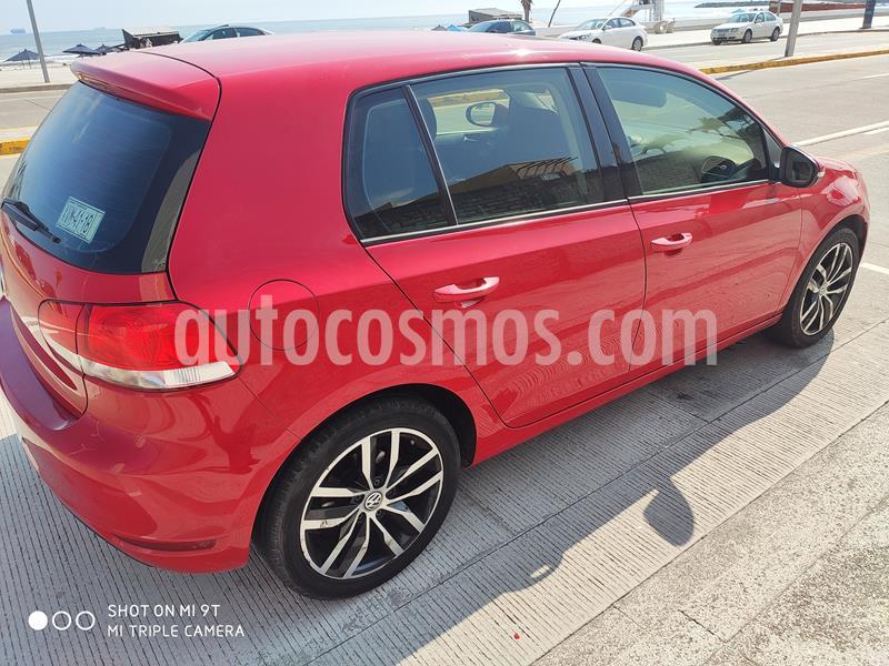 Volkswagen Golf 1.4 T usado (2013) color Rojo Tornado precio $145,000
