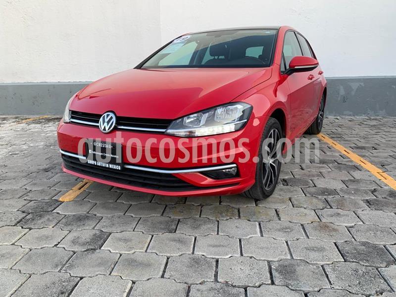 Volkswagen Golf Highline DSG usado (2019) color Rojo Tornado precio $384,900