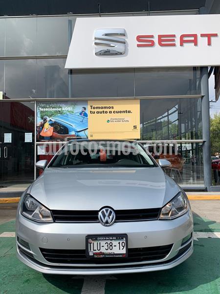 Volkswagen Golf Highline DSG usado (2017) color Plata Reflex precio $259,990