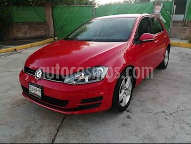 Volkswagen Golf Trendline usado (2016) color Rojo precio $197,000