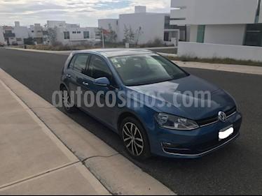 Volkswagen Golf 1.4 T usado (2015) color Azul precio $220,000