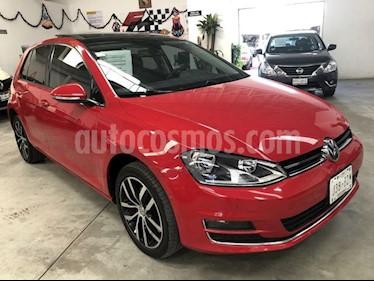 Volkswagen Golf Highline DSG usado (2016) color Rojo precio $279,000