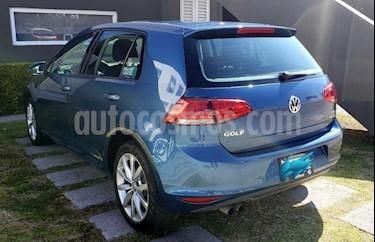 Volkswagen Golf 1.4 T usado (2015) color Azul precio $180,000