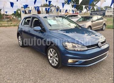 Volkswagen Golf Comfortline usado (2018) color Azul Metalico precio $340,000