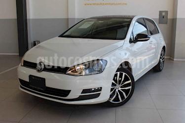 Volkswagen Golf 5p Fest L4/1.4/T Man usado (2017) color Blanco precio $285,000
