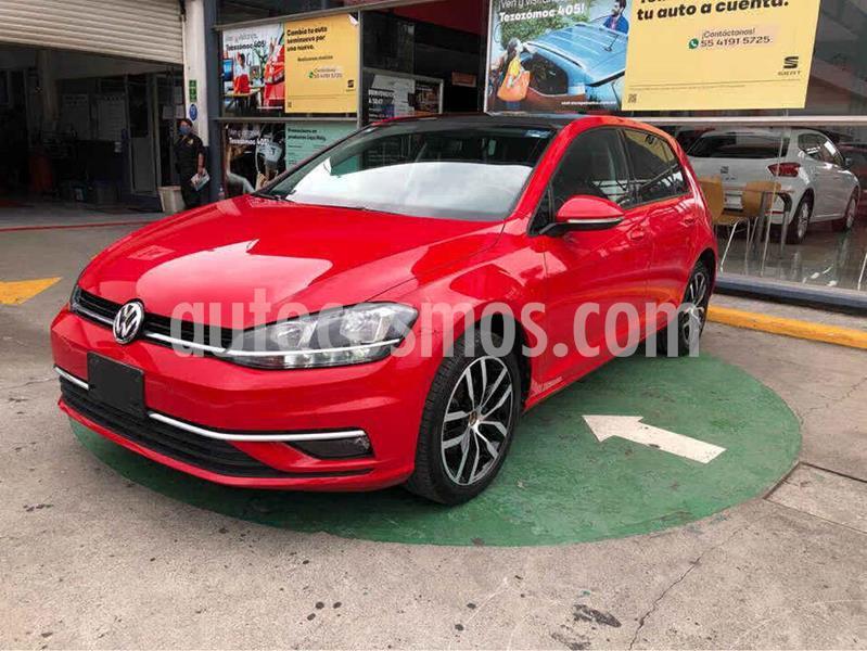 Volkswagen Golf Highline DSG usado (2019) color Rojo precio $354,990