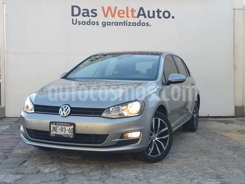 Volkswagen Golf Highline DSG usado (2017) color Plata Dorado precio $275,000