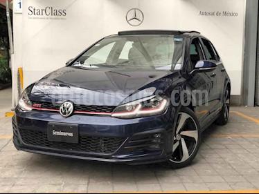 Volkswagen Golf 5p GTI L4/1.4/T Aut usado (2018) color Azul precio $445,000