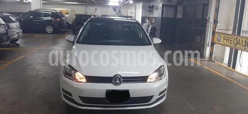 Volkswagen Golf Comfortline usado (2015) color Blanco precio $209,500