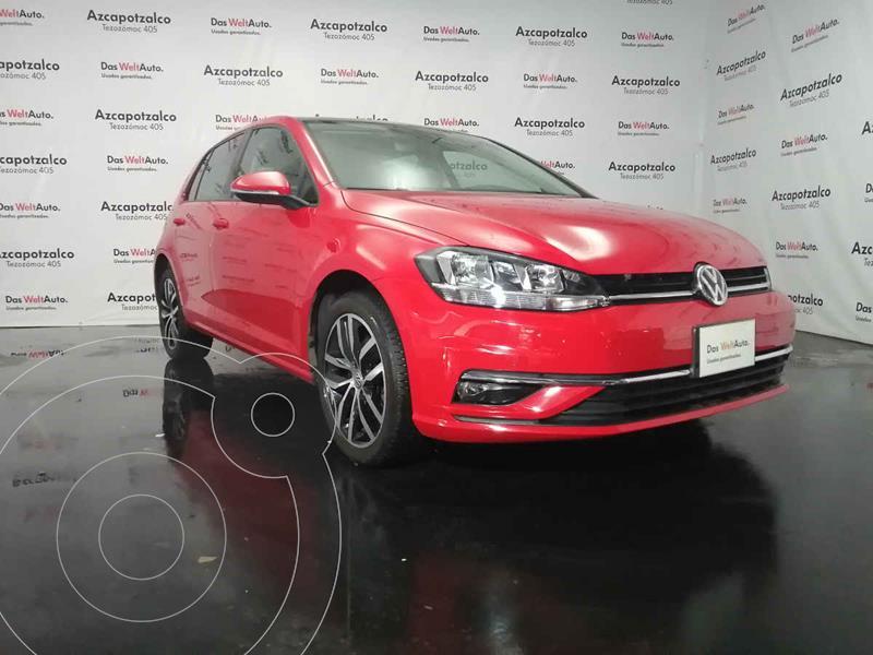Volkswagen Golf Highline DSG usado (2019) color Rojo precio $364,990