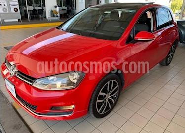 Volkswagen Golf Highline DSG usado (2017) color Rojo precio $294,900