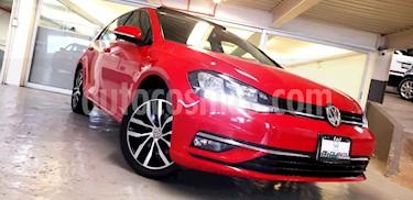 Volkswagen Golf Highline DSG usado (2018) color Rojo precio $339,000