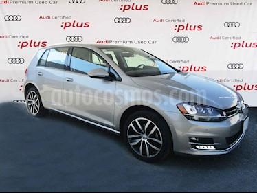 Volkswagen Golf 5p Highline L4/1.4/T Aut usado (2016) color Plata precio $245,000