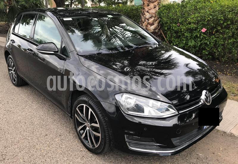 Volkswagen Golf Highline DSG usado (2015) color Negro Profundo precio $218,000