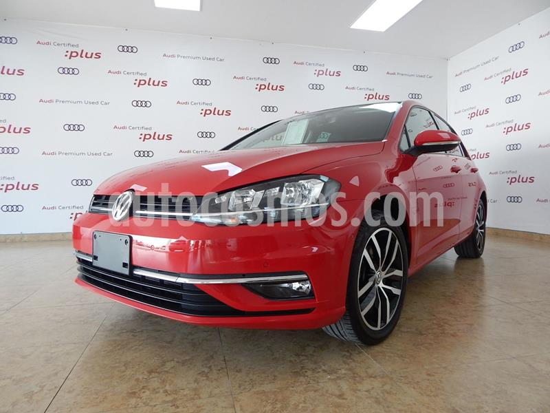 Volkswagen Golf Highline DSG usado (2019) color Rojo precio $390,000