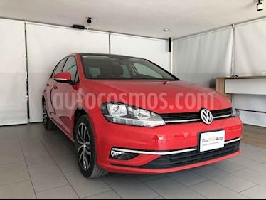 Volkswagen Golf 5p Highline L4/1.4/T Aut usado (2019) color Rojo precio $380,000