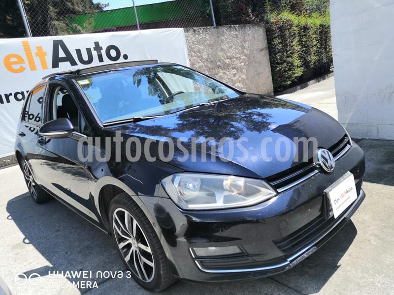 Volkswagen Golf Highline DSG usado (2017) color Negro precio $265,000