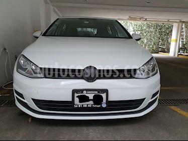 Volkswagen Golf 1.4 T usado (2016) color Blanco precio $210,000