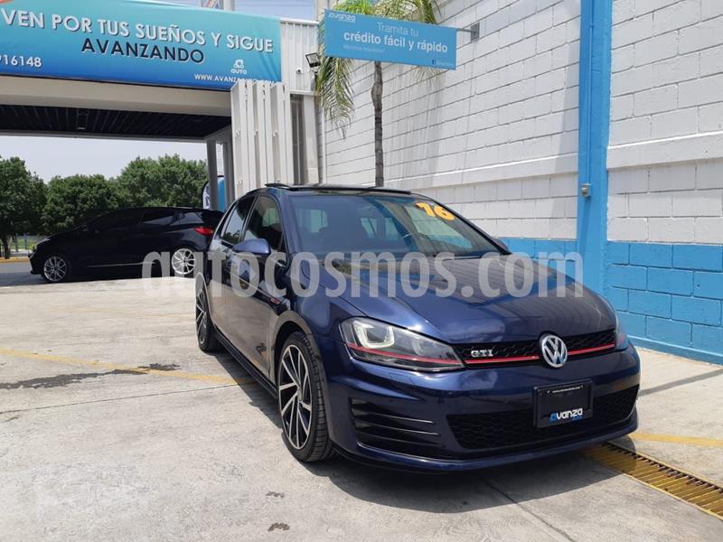 Volkswagen Golf GTi A2 2.0L usado (2016) color Azul Oscuro precio $349,000