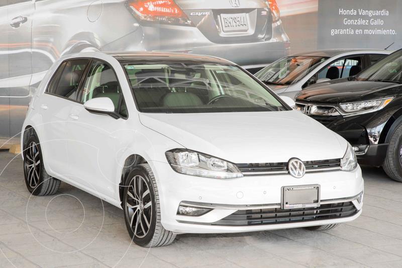 Foto Volkswagen Golf Highline DSG usado (2019) color Blanco precio $399,900