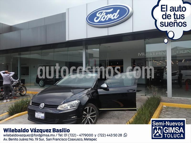 Volkswagen Golf FEST STD. usado (2017) color Negro precio $274,000
