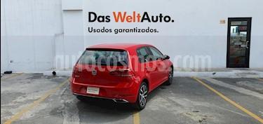 Volkswagen Golf Highline DSG usado (2018) color Rojo precio $370,000