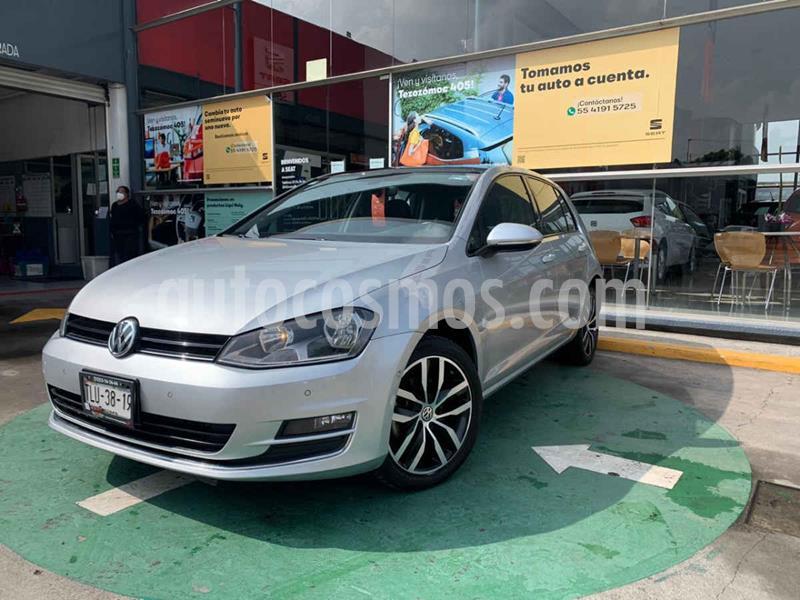 Volkswagen Golf Highline DSG usado (2017) color Plata precio $254,990