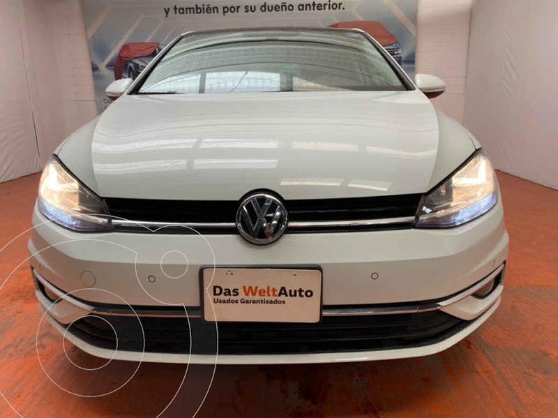 Volkswagen Golf Highline DSG usado (2019) color Blanco precio $360,000