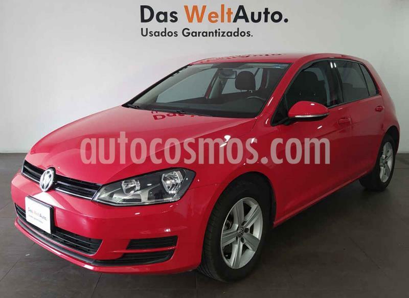 Volkswagen Golf Comfortline usado (2016) color Rojo precio $231,000