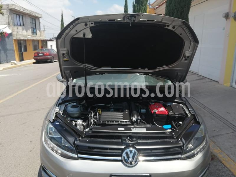 Volkswagen Golf Comfortline usado (2018) color Plata precio $280,000