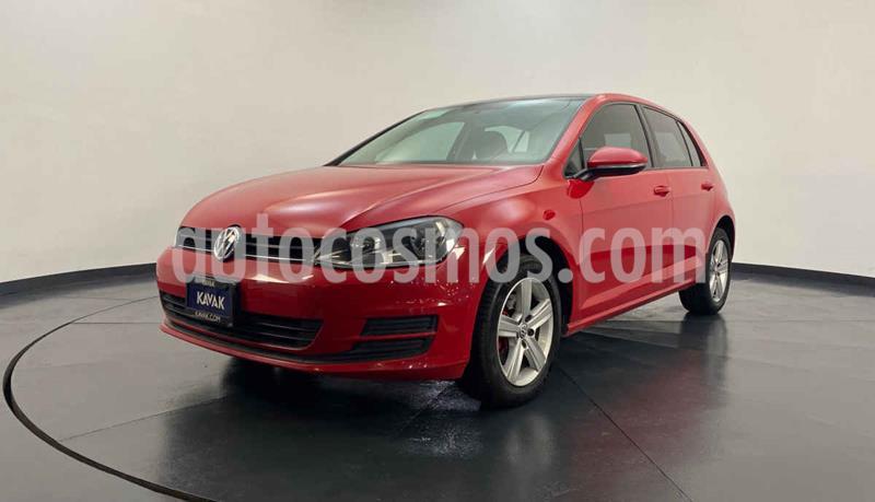 Volkswagen Golf Trendline usado (2016) color Rojo precio $219,999