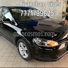 Volkswagen Golf Trendline usado (2017) color Negro precio $229,900