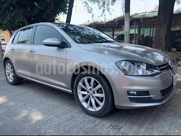 Volkswagen Golf 5P COMFORTLINE L4 1.4 AUT usado (2015) color Plata precio $198,000