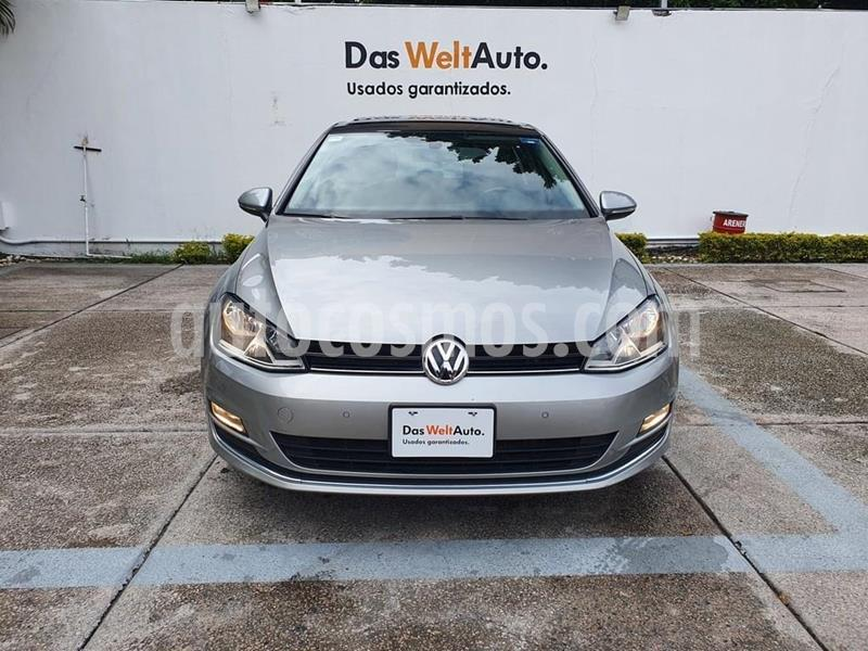 Volkswagen Golf Highline DSG usado (2016) color Plata Tungsteno precio $254,900