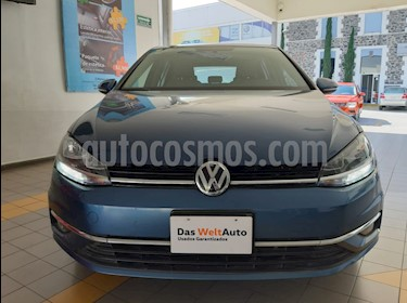 Volkswagen Golf Comfortline DSG usado (2018) color Azul Metalico precio $320,000