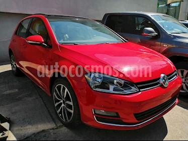 Volkswagen Golf Highline DSG usado (2017) color Rojo precio $280,000