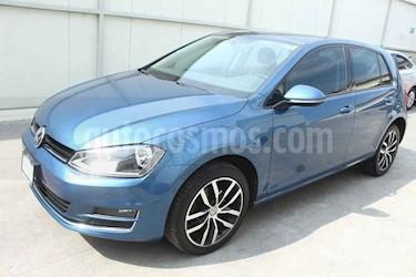 Volkswagen Golf 5p Highline L4/1.4/T Aut usado (2017) color Azul precio $299,000
